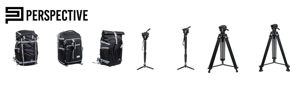 【新製品】PERSPECTIVE 三脚・一脚・カメラバックパック 発売のご案内