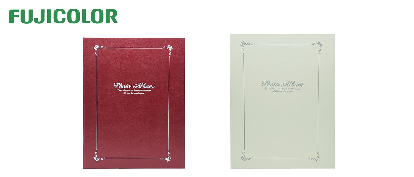 【新製品】FUJICOLOR A4フリーアルバム レザー レッド/アイボリー 発売のご案内