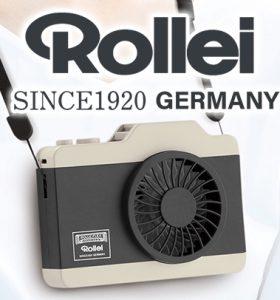 【新製品】ROLLEI ハンズフリーファンシリーズ発売のご案内