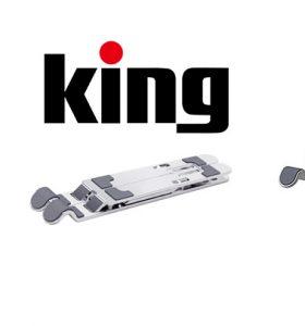 【新製品】King 折りたたみ式ラップトップスタンド KLS-S/KLS-W 発売のご案内