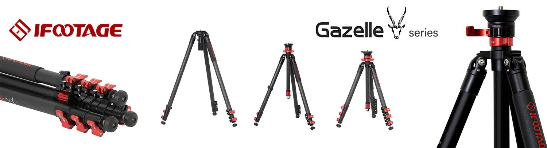 【新製品】IFOOTAGE Gazelle 三脚シリーズ 発売のご案内